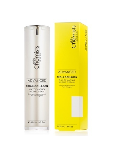 Pro-5 Collagen Oxygenating Night Cream 50 Ml Gece Kremi-Skin Chemist